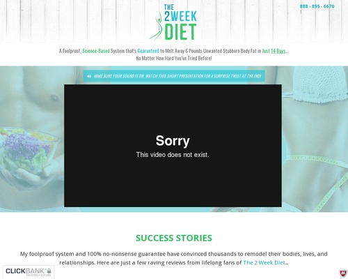 The 2 Week Diet | Official Website | Lose Weight In 2 Weeks | Program and Plan | Diet Book | How To Lose Weight In 14 days!