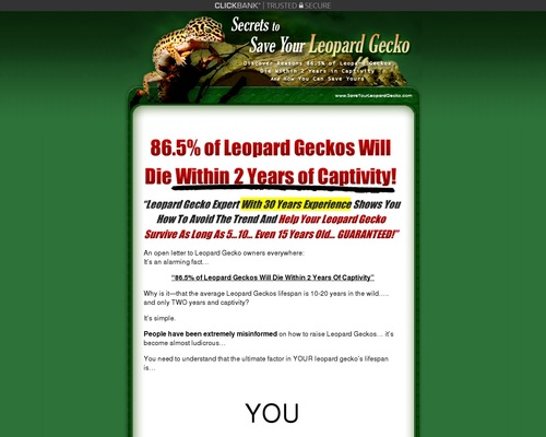 Save Your Leopard Gecko – Leopard Gecko Care