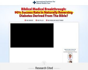 Diabetes 2 Reverser - New Diabetes Offer With Crushing Conversions
