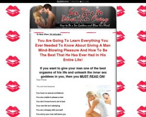 Sex Tips to Drive Him Crazy: How to Be a Sex Goddess and Blow His Mind