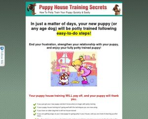 Puppy Potty Training Made Quick and Easy  