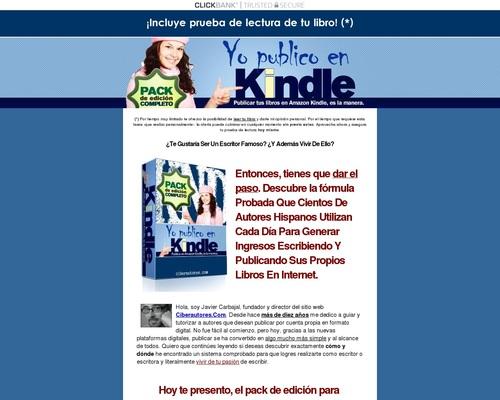 Yo Publico en Amazon Kindle (Pack) 2014