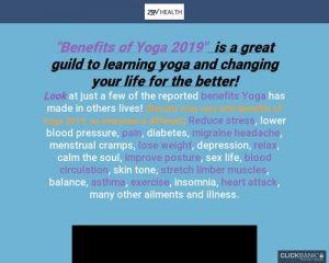 2019 Benefits of Yoga