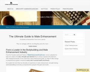 The Ultimate Guide to Male Enhancement – Cypress Canyon Publishing