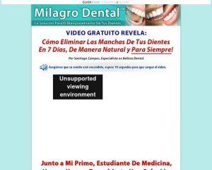 Milagro Dental™ | La Solución Para El Blanqueamiento De Tus Dientes