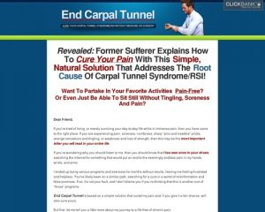 End Carpal Tunnel: Cure Your Carpal Tunnel Syndrome/RSI