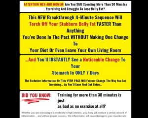 New 4-minute Fighter Abs - Highest Converting Ab Offer On The Internet