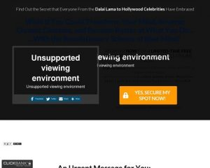 Unauthorized Affiliate - error page